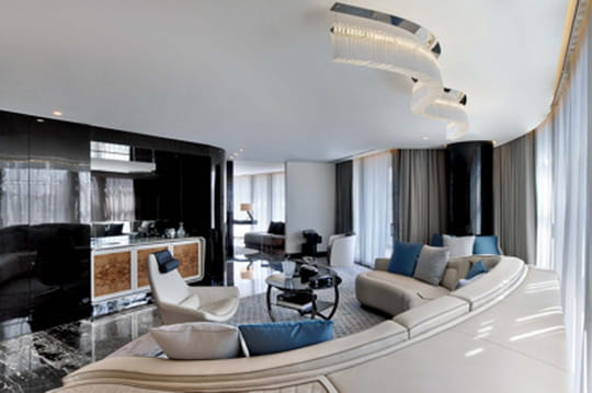 Visitez la suite décorée par Bentley à Istanbul