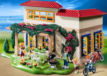 la maison de campagne playmobil.
