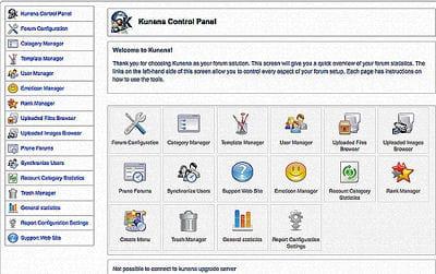 kunena permet de proposer un forum complet et structuré sur votre site internet.