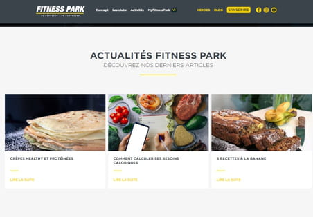 Fitness Park muscle sa marque en croisant SEO local et stratégie de contenu