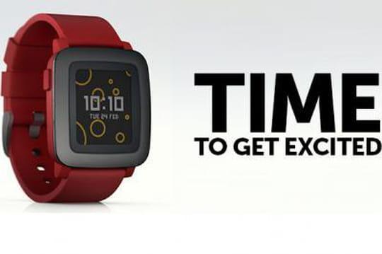 Kickstarter : La Pebble Time dope ses ventes après la présentation de l'Apple Watch