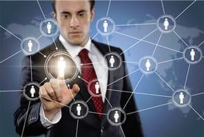 Les réseaux sociaux d'entreprise de 5grands groupes français
