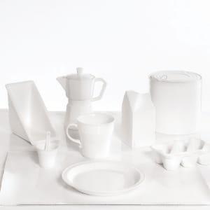 la marque de design seletti détourne des emballages jetables en vaisselle en