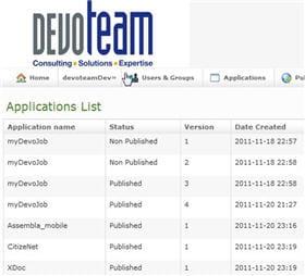 kmap keivox est une plate-forme de création et de gestion des apps mobiles qui
