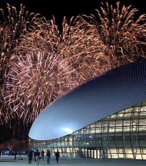 le stade olympique fisht, à sotchi, accueillera exclusivement les cérémonies