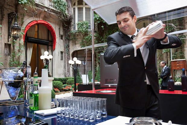 Plaza Athénée : cocktails