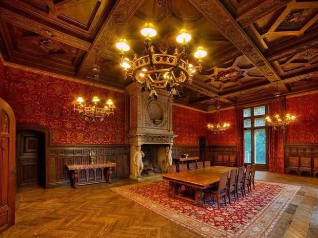 Le château a été rénové sans être dénaturé