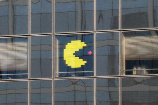 Pac-Man met la pac-gomme