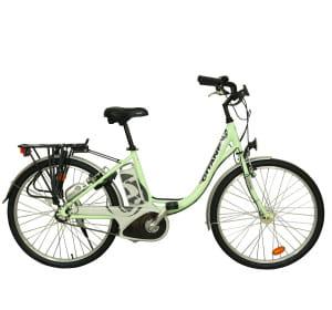 le gitane e-bike 8 dispose d'une batterie dont l'autonomie va jusqu'à 75 km en