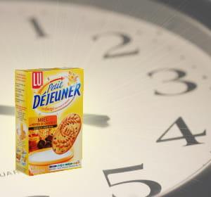 55% des biscuits petit-déjeuner sont dégustés au goûter