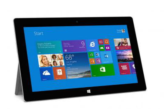 La tablette Surface plus utilisée aux heures de travail que ses rivales