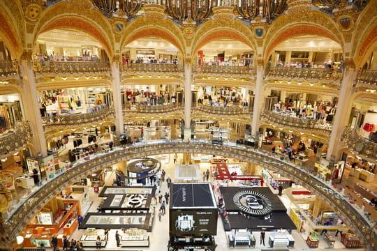 Comex Galeries Lafayette et BHV Marais: de la marque et du digital