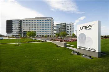 le tout nouveau siège de juniper, à sunnyvale,en californie.