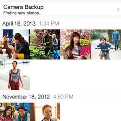 stocker photos, vidéos ou textes.