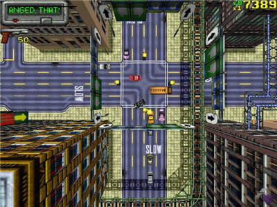 copie d'écran du jeu proposé par le site abandonware-france.org.