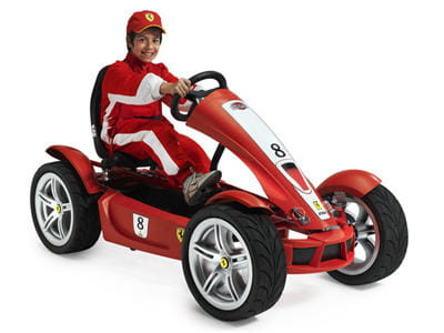 kart digne reproduction d'une ferrari