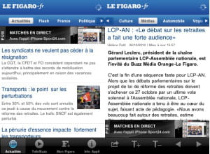 l'application le figaro