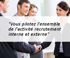 responsable du recrutement.