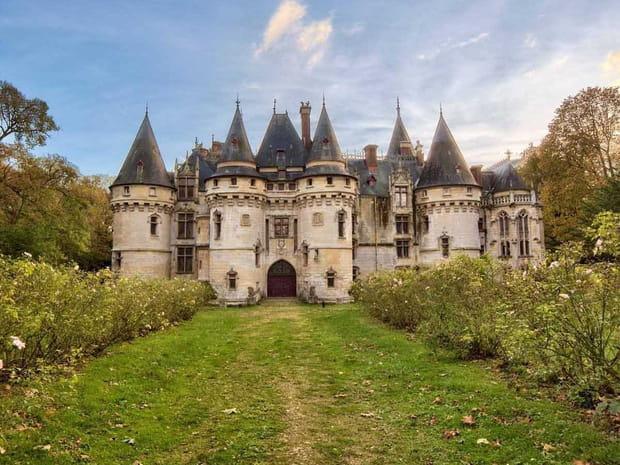 Un véritable château français