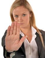 pour entretenir une relation harmonieuse, il faut savoir dire 'non' à l'occasion