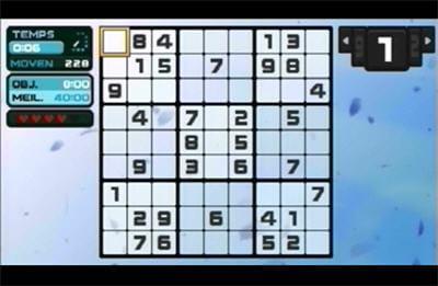 le sudoku fait partie des trois jeux que vous trouverez dans cette compilation