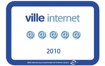 le label ville internet 2010.