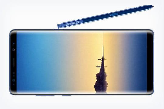 Sortie du Samsung Galaxy Note 8: une nouvelle photo en fuite