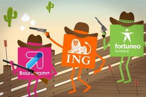 Face aux néobanques, les banques en ligne lancent leur riposte