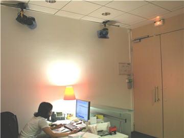 Locaux Allociné : un studio à l'accueil