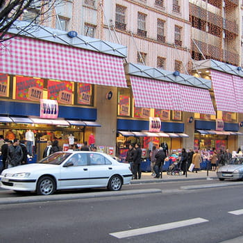 le magasin historique du boulevard rochechouart, à paris