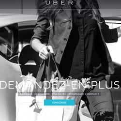 uber, pour voyager plus facilement.