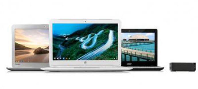 Des Chromebooks plus puissants grâce aux processeurs Intel