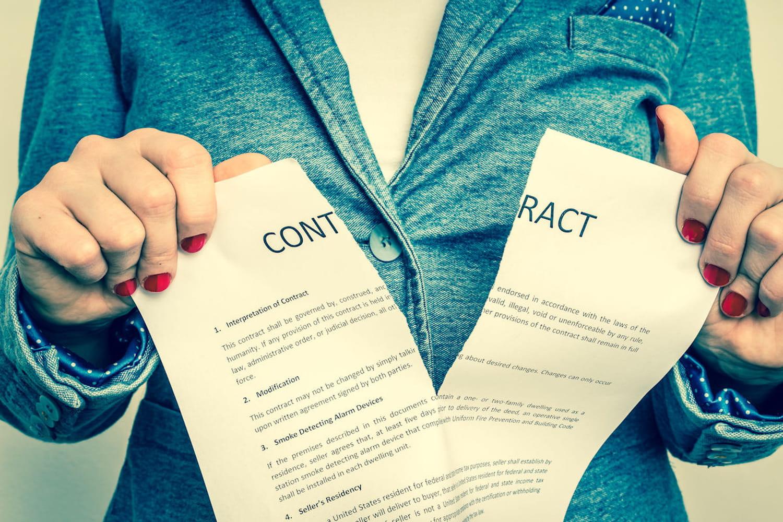 Lettre d'annulation de compromis de vente