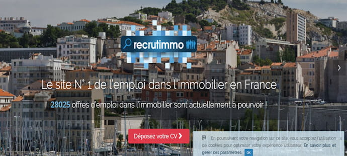 Le jobboard immobilier Recrutimmo lève 600000euros