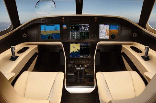 Cockpit de luxe