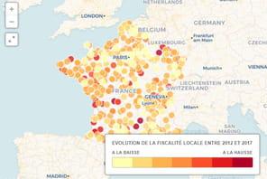 Impôts locaux: les villes où ils ont le plus augmenté entre 2012et 2017