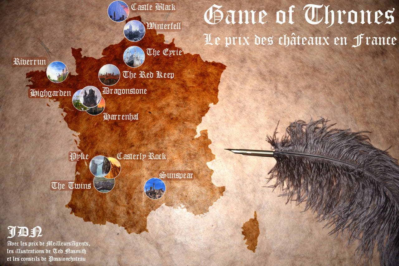 Game of thrones en france winterfell co terait 215 millions d 39 euros - Objet game of thrones ...