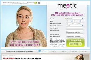 capture d'écran meetic.fr