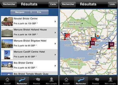 l'application iphone d'accorhotels.com