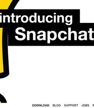 l'utilisation de snapchat a explosé en 2013.