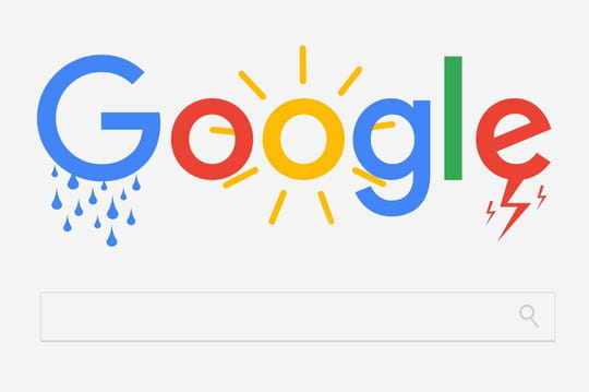 La Météo Google en Franceau début de l'année 2017