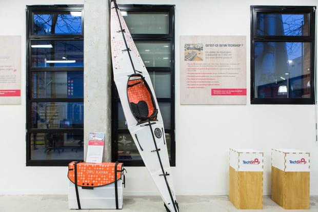 Kayak origami oru kayak - Techshop leroy merlin ...