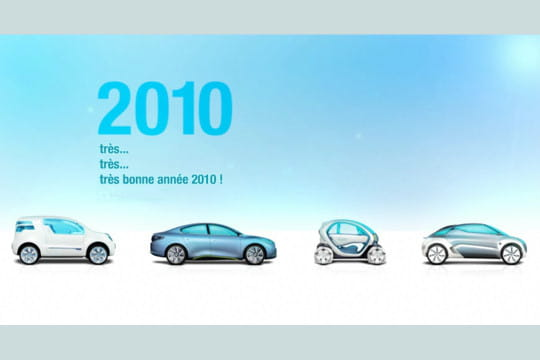 Lescartesdevœuxdesgrandesentreprises: Renault