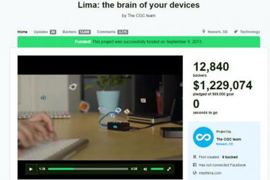 Soupçonné de fraude par ses soutiens Kickstarter, Lima s'explique