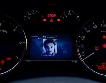 le regard peut être utilisé par l'interface de la voiture pour commander