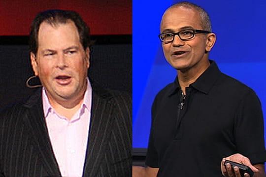 Microsoft a cherché à acquérir Salesforce pour 55milliards de dollars