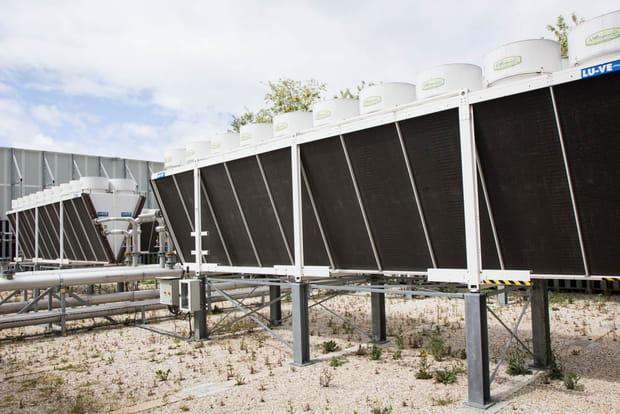 Centrales de refroidissement d'air