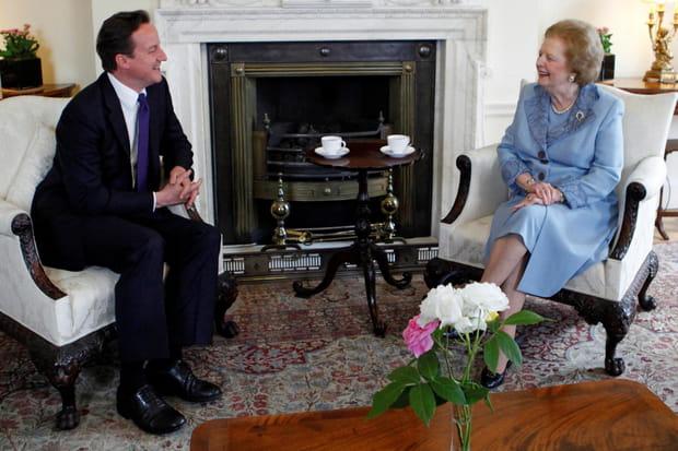 Avec David Cameron