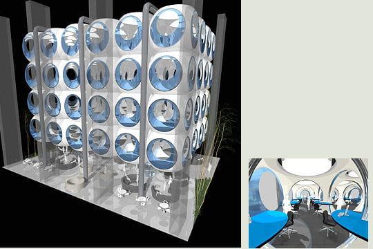 Dubai invente des bureaux bulles