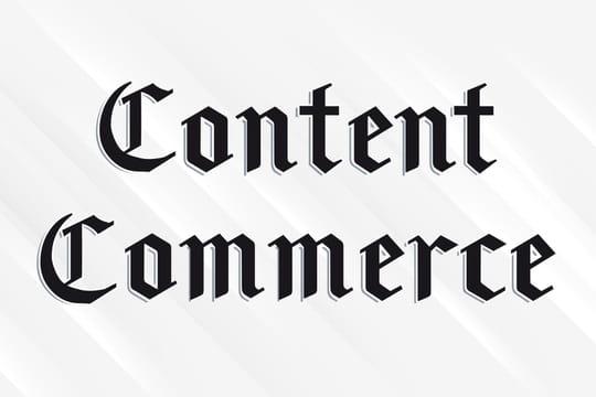 Le content commerce, nouvelle planche de salut des médias généralistes